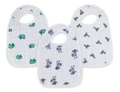 Aden + Anais Muslin Snap Bib Jungle Jam 3 Count