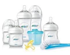 Philips Avent BPA Free Natural Infant Starter Gift Set