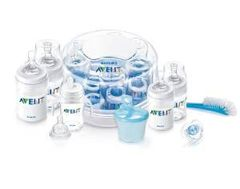 Philips AVENT BPA Free Classic Polypropylene Essentials Gift Set