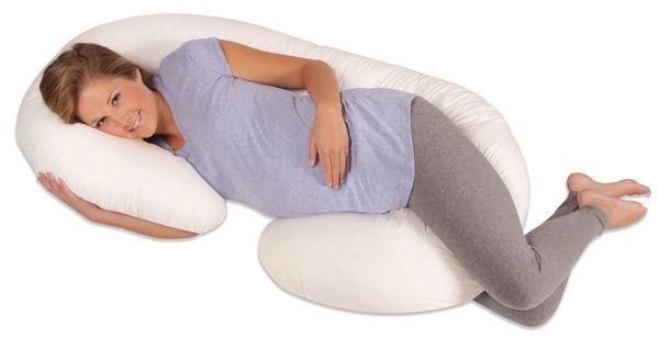 Leachco Snoogle Total Body Pillow White