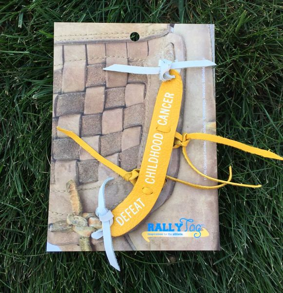 """Defeat Childhood Cancer"" RallyTag®"