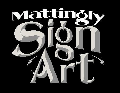 Mattingly Sign Art
