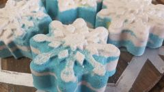 Relax jelly snowflake body treatment Bath Bomb