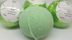 Rub body treatment Bath Bomb