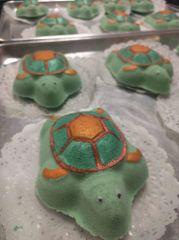 Paint your own Sea Turtle Bath Bomb