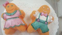Dirty Hippy Gingerbread Man or Woman Bath Bomb