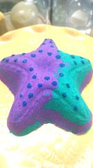 Chill Aromatherapy and pink Himalayan salt Starfish body treatment Bath bomb