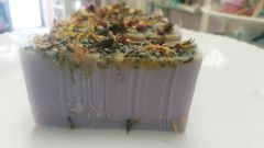 Dream aromatherapy and dried flower Glycerine Soap Bar