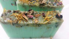 Rub aromatherapy and dried flower Glycerine Soap Bar