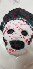 Aromatherapy Leather face horror character bath bomb