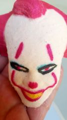 Paint your own killer clown bath bomb Oct 12