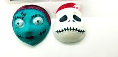 Jack & Sally Christmas edition Bath Bomb duo