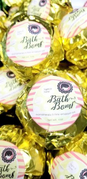 Tight & Tone body treatment Bath bomb