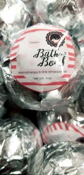 Steam body treatment Bath Bomb