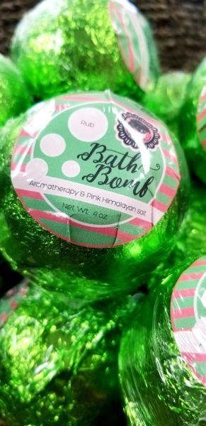 Rub body treatment Bath Bomb