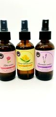 Floral water face mists