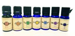 7 Chakra Essential oil blends
