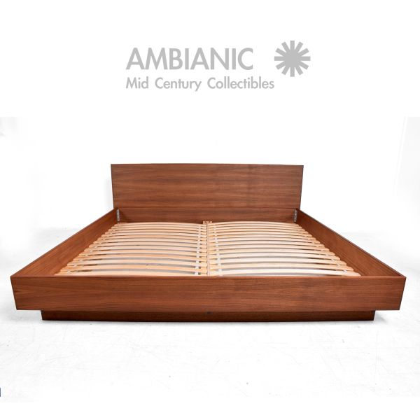 Hold Teak King Platform Bed Danish Modern By Ambianic