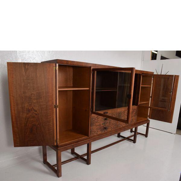 foto de Bruno Paul Rosewood Cabinet Deutsche Werkstätten Hellerau GmbH Ar ...