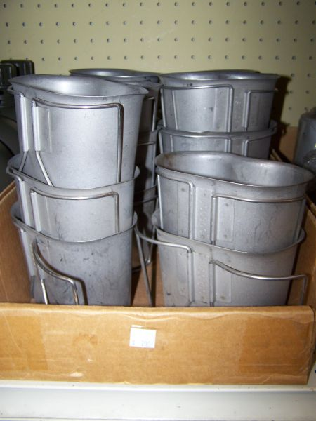 CANTEEN CUP, METAL, U.S. ISSUE
