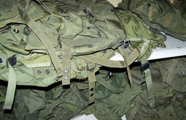 ALICE PACK, MEDIUM OR LARGE, OD GREEN *NICE*