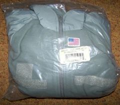 PCU L-3 POLAR FLEECE JACKET, FOLIAGE GREEN, SMALL, U.S. ISSUE *NEW*