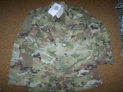 ACU SHIRT, OCP MULTICAM CAMO, SIZE MEDIUM-X-LONG, U.S. ISSUE