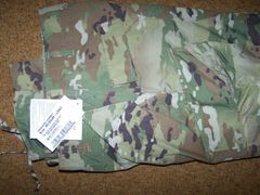 ACU PANTS, OCP MULTICAM CAMO, SIZE MEDIUM-LONG, U.S. ISSUE