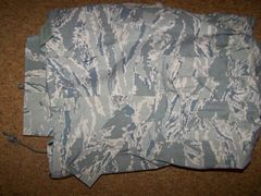 APECS GORETEX PANTS, AIR FORCE ABU DIGITAL TIGER CAMO, LARGE-REG, U.S. ISSUE