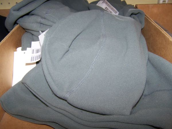 FLEECE SKULL CAP, FOLIAGE GREEN, U.S. ISSUE *NEW*