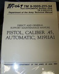 M-1911 .45 MANUAL