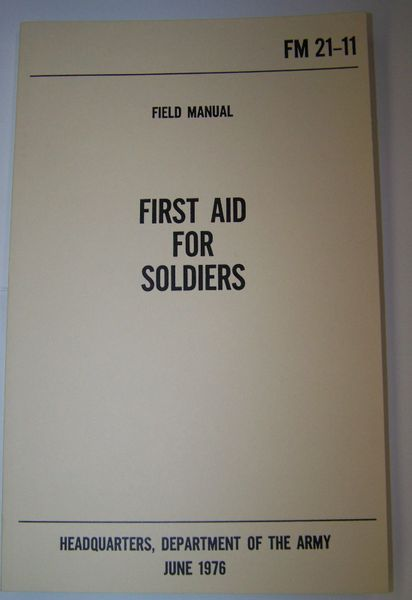 1ST AID FOR SOLDIERS MANUAL