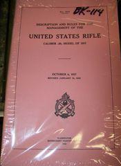 M1917 ENFIELD MANUAL