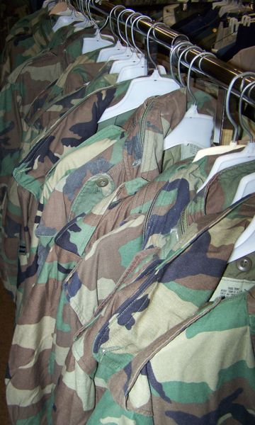 M65 FIELD JACKET, WOODLAND CAMO