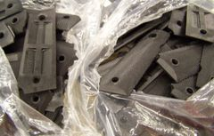 M-1911 GRIPS, BLACK PLASTIC