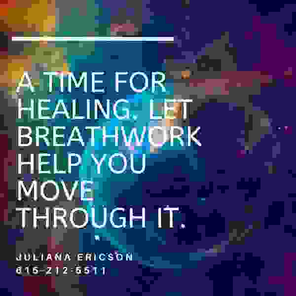 Breathwork is healing