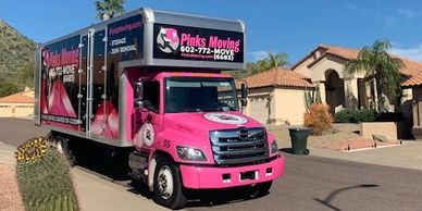 MOVING IN SCOTTSDALE AZ ONE HOUSE AT A TIME FAMILY OWNED AND OPERATED WWW.PINKSMOVING.COM