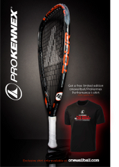 ProKennex KI Tour Racquets with OWB Shirt