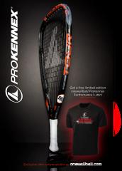 ProKennex KI Tour Racquets with OWB Shirt