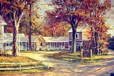 The Pheasant Run Motor Inn, by Ron Goyette. (Now the Kennebunkport Motor Lodge)