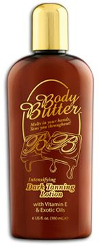 Body Butter Dark Tanning Lotion