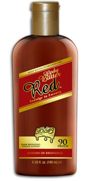 Body Butter Red Tanning Lotion