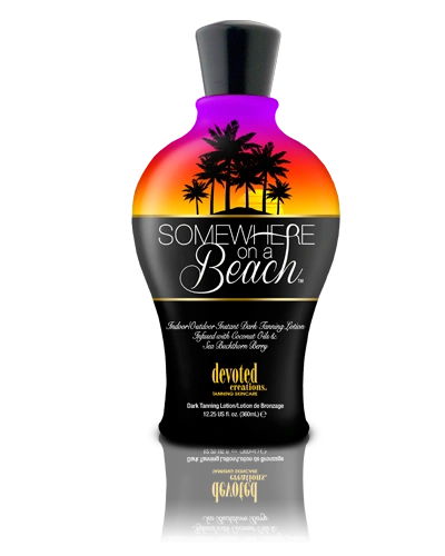 Somewhere on a Beach™ Indoor/Outdoor Instant Dark Tanning Cocktail