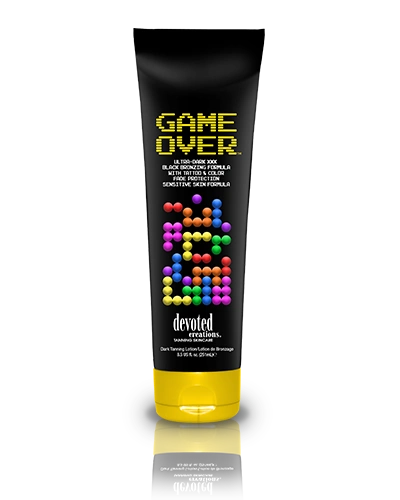 Game Over™ Ultra-Dark XXX Black Bronzing Formula