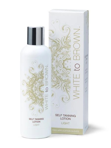 White to Brown Self Tanning Lotion (LIGHT) 250ml