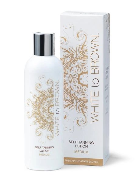White to Brown Self Tanning Lotion (MEDIUM) 250ml