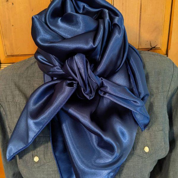 42x42 Navy blue wild rag