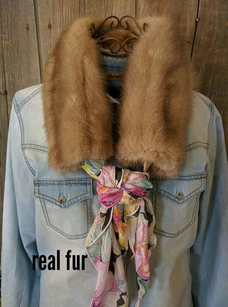 Real Fur Ruff - mink