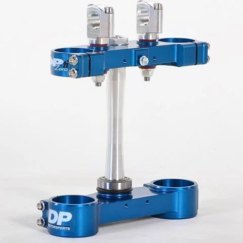 2013-2018 HUSKY 125/450 22 MM OFFSET CLAMP- BLUE
