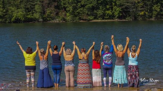 Yoga retreat sacred feminine sisterhood sacred ceremony drum circle Athens tn goddess near me